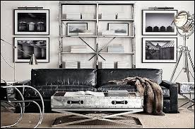 Charming Industrial Style Decorating Ideas   Industrial Chic Decorating Decor    Gears Decor   City Living Urban