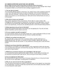 50 Common Interview Questions And Answers Common Interview