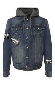 Мужские <b>джинсовые</b> куртки однотонные купить в интернет ...