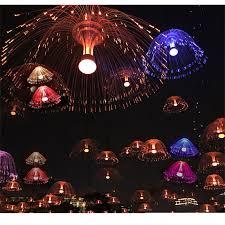 china led fiber optic light jellyfish chandelier light rgb colorful light china optic fiber light led optic fiber light