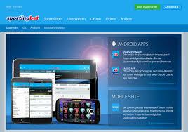 приложение для андроид sportingbet