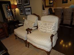 cozy chairs 1200 each at a furniture got both for 400 each at tuesday