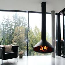 hanging wood fireplace modern floating fireplace hanging fireplace wood  burning fireplace focus fires mounting tv over