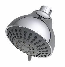 domed 3 spray chrome fixed swivel shower head 50803222 plumbers mate ltd