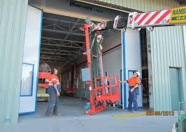 both side draft vehicle paint spray booth high precision 20x5x5 m internal size