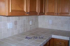 Tile Countertop Kitchen Download Majestic Looking Ceramic Tile Countertops Teabjcom