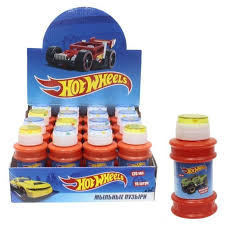 <b>Мыльные пузыри</b> 1Toy <b>Hot</b> Wheels 120 мл Т11464 - лучшая цена ...