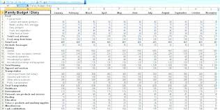 Daily Expenses Sheet In Excel Format Free Download Income And
