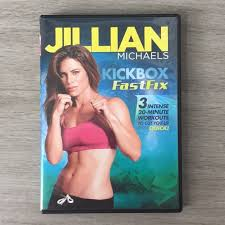 jillian michaels kickbox fastfix dvd