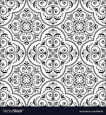 Arabesque Pattern Adorable Arabesque Seamless Pattern Royalty Free Vector Image
