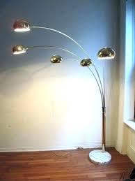 led arc floor lamp curved contemporary minimalist lighting design warm possini euro astoria