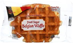 authentic imported pearl sugar belgian waffles 4 count amazon grocery gourmet food