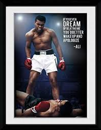 If You Even Dream Of Beating Me Quote Best of Buy Muhammad Ali Framed Collector Poster If You Even Dream Of