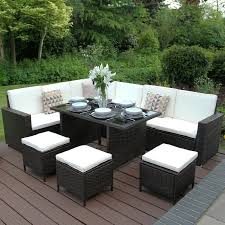 Sitzgruppe Monaco Allibert Lounge Set Terrassenmöbel