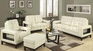 White Living Room Set For Modern Leather Living Room Furniture Sets Leather Sofa Set Modern