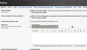 How To Remove Signatures In Gmail Replies