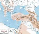 Ottoman Empire Map Ww1