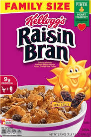 kellogg s raisin bran cereal family size 23 5 oz