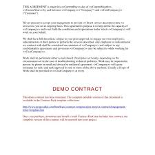 Project Contract Templates Engagement Letter : Pre-Project Contracts : Legal Contract within ...
