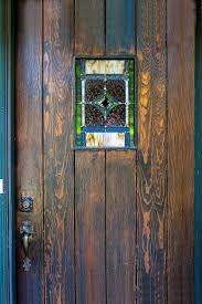 front door windowComparison Pictures of Leaded Glass Front Door Window  Painted