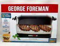 George Foreman George Jr Rotisserie Gr82 Ebay
