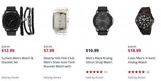 men s clearance watches as low as 4 39 at kmart bies2deals screen shot 2017 01 17 at 9 41 44 am