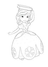 Sofia The First Coloring Pages Online Coloring Page Princess Pages
