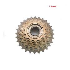 Promend <b>Bicycle Freewheel</b> 7 Speed <b>Cassette Freewheel 14 28T</b> ...