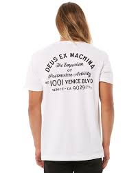 Deus Ex Machina Clothing Size Chart Venice Address Mens Tee