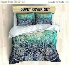 duvet cover king bedding queen full twin mandala boho covers size of nursery in conjunction