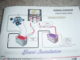 warn battery isolator wiring diagram wiring diagram battery isolators for multiple batteries waytek wire