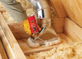 exterior spray foam sealant. if you have ducts in the attic, use great stuff insulating foam sealant to seal around all hvac boots where they penetrate drywall into li\u2026 exterior spray i