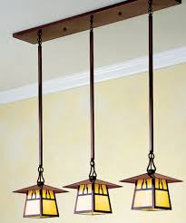 arts and crafts chandelier. Arts And Crafts Lighting 1 Famous The Carmel Three Light In Line Chandelier Is One Of R