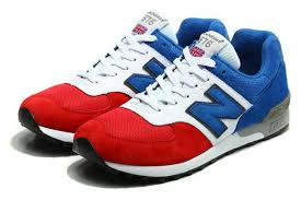 new balance shoes red and blue. fashion new balance 576 series red blue white unisex jogging shoes and b