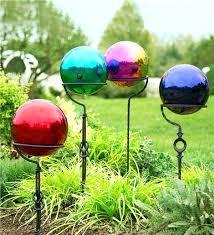 gazing globes garden le glass