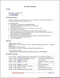 Get Does Openoffice Have Resume Templates Free Samples Document