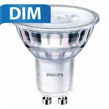 Gu10 Led White Light Philips Philips Gu10 Led Spot 5 Watt Dimmable 2700k Warm White Replaces 50w