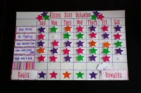 How To Do A Star Chart Star Behavior Charts Brady Star Behavior Charts