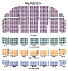 Radio City Music Hall 3d Seating Chart Radio City Music Hall Seating Chart Seat Views Tickpick