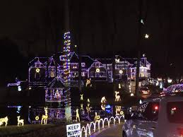 Holt Road Apex Nc Christmas Lights Massive Apex Christmas Lights Display Attracts Many Causing