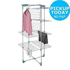 indoor clothes airer zeppy io minky 40m tower indoor clothes airer from the official argos shop on