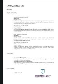 Effective Resume Templates 2017 Best of Federal Resume Template 24 A Completed Federal Resume Sample With