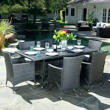 home depot outdoor dining 6 person patio dining set home depot patio furniture clearance round glass