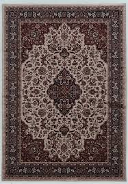 elite collection cream blue accent rug traditional area rugs by homesquare