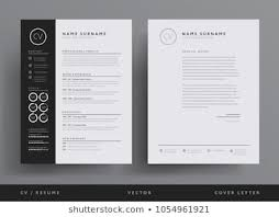 cv video template resume template images stock photos vectors shutterstock