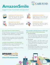 It features the same products at the same prices as the standard amazon site. Care Fund Support Care Fund Via Amazonsmile Care Fund