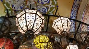 big authantic middle east chandeliers