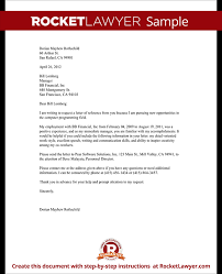 Best Photos Of Employee Recommendation Letter Job