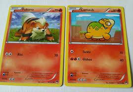 Reverse Holo Pokemon XY Turbofieber 10/122 Fukano Pokémon Sammelkartenspiel  com Sammeln & Seltenes