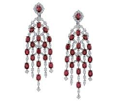 ni ruby and diamond chandelier earrings jck on your market